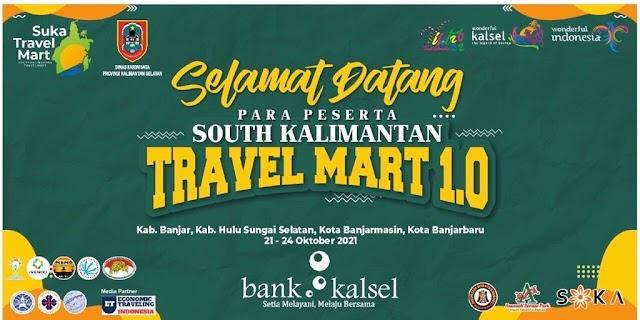 Dukung Kebangkitan Pariwisata dan Ekonomi, Bank Kalsel Jadi Sponsor Utama South Kalimantan Travel Mart 2021
