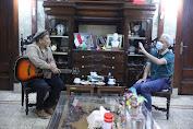 Pentolan Grup Band Padi Reborn Sambangi Ganjar di Semarang