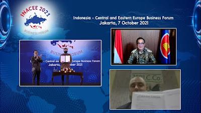 Hasilkan  Transaksi sebesar Rp. 44 Miliar, Kemlu Gelar Forum Bisnis Indonesia-Eropa Tengah dan Timur