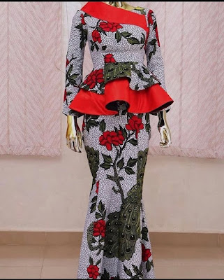 Ankara Gown Styles For Teenage Girls