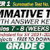 GRADE 6 UPDATED SUMMATIVE TESTS NO. 4 for SY 2021-2022 (Q1: Weeks 7-8) With Answer Keys