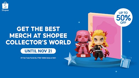 Get the Best Merch and Collectibles and Be the Ultimate Fan when  Shopee Collector's World Returns this October