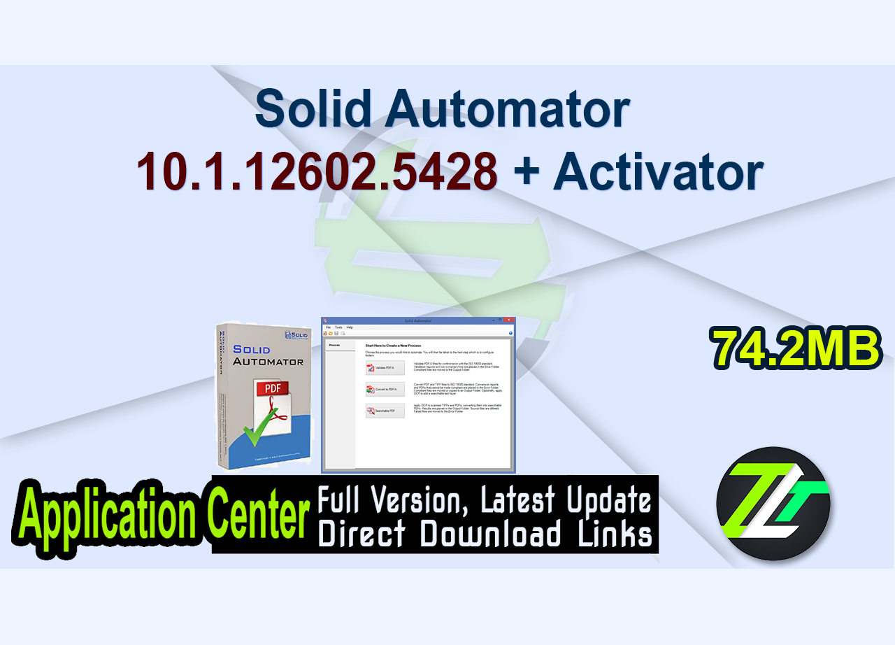 Solid Automator 10.1.12602.5428 + Activator