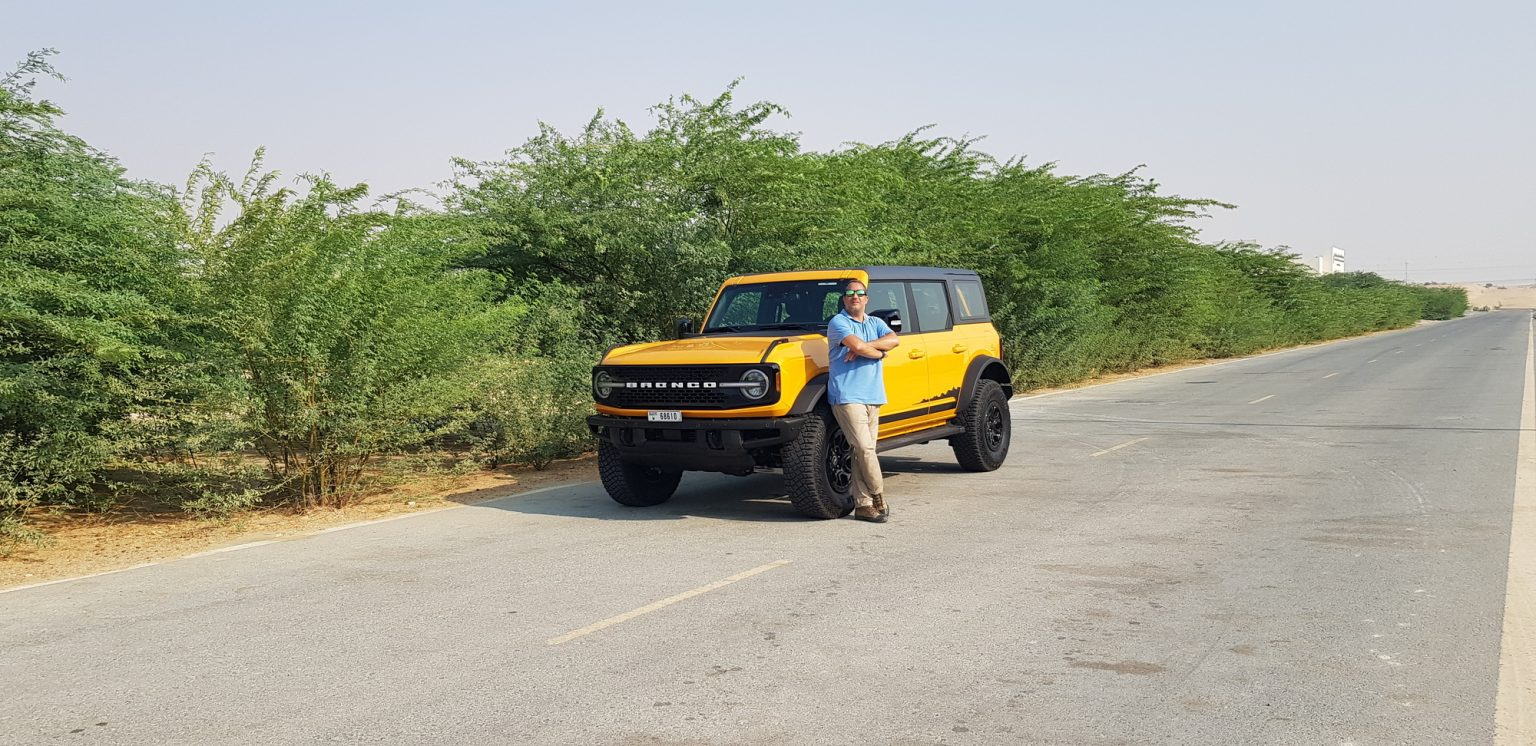 (RICHIE HONEIN) with the 2021 Ford Bronco