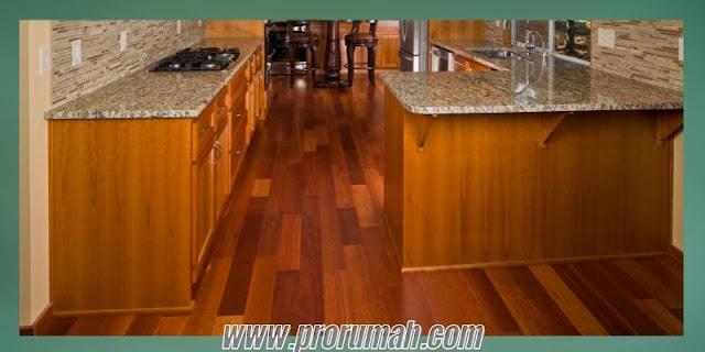 Jenis Lantai Kayu Sintetis Untuk Area Dapur - lantai laminate
