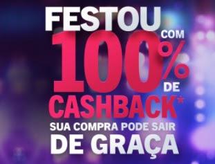 Festou Aniversário 2021 Casas Bahia 100% Cashback