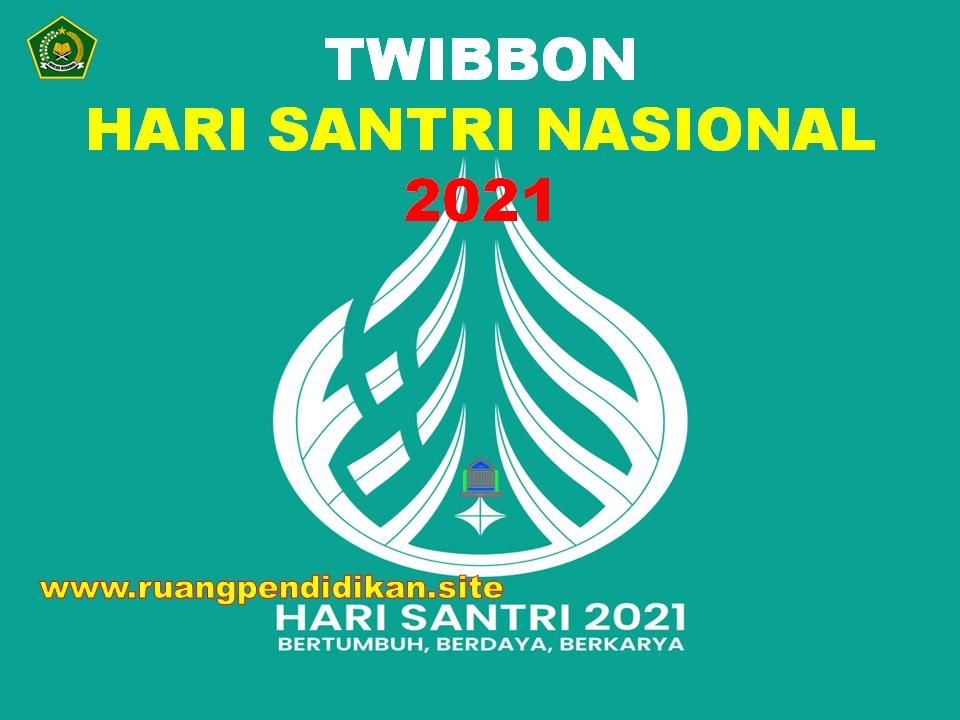 Twibbon Hari Santri Nasional