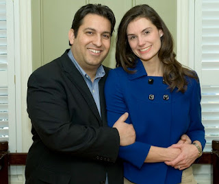 Krystal Ball with her spouse Jonathan