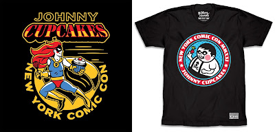 New York Comic Con 2021 Exclusive Johnny Cupcakes T-Shirts