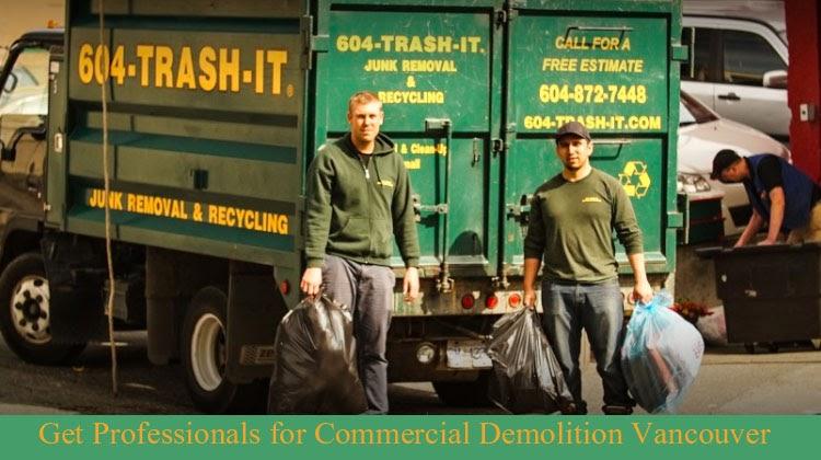 Get Professionals for Commercial Demolition Vancouver
