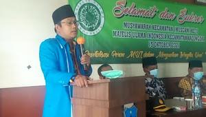 MAJELIS ULAMA INDONESIA (MUI) KECAMATAN KADUNGORA KABUPATEN GARUT GELAR MUSCAM KE II