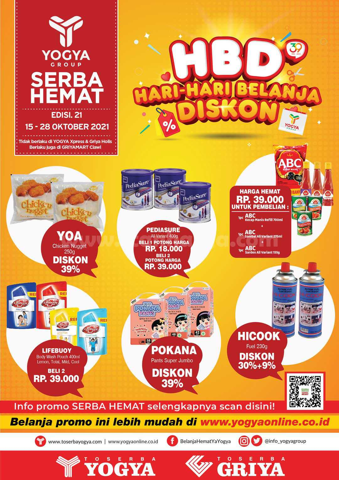 Katalog Promo Toserba Yogya Terbaru 15 - 28 Oktober 2021