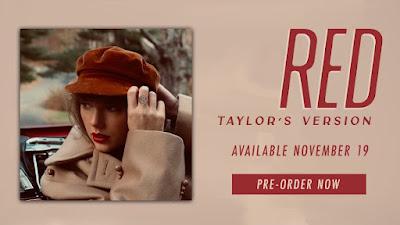 """Taylor Swift Percepat Perilisan Album Ulang """"RED"""""""