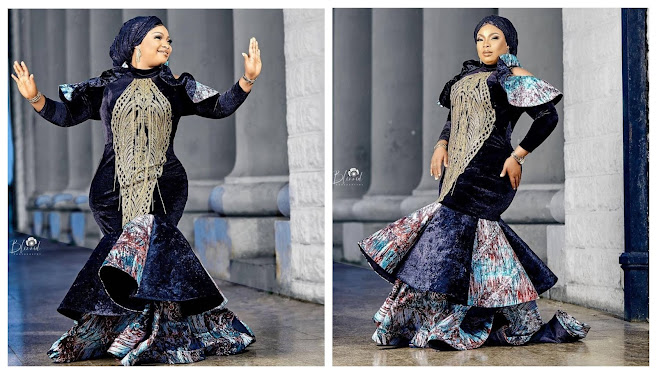 Your Hips is not equal- Fans Reacts to the Birthday Photoshoot of Actress Laide Bakare (Photos)