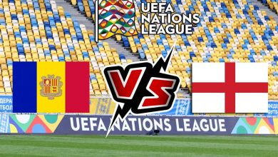 مشاهدة مباراة أندورا و إنجلترا بث مباشر Andorra vs England