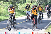 Usai Apel Pagi, Kapolres Sidrap Pimpin Gowes Bersama Anggota