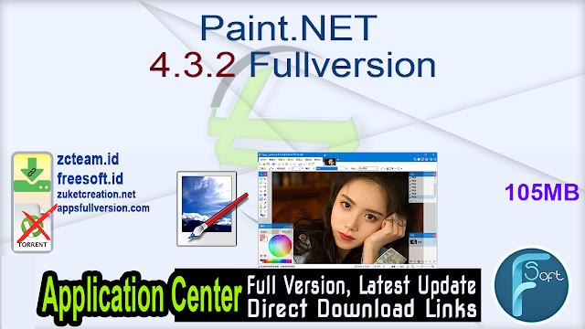 Paint.NET 4.3.2 Fullversion