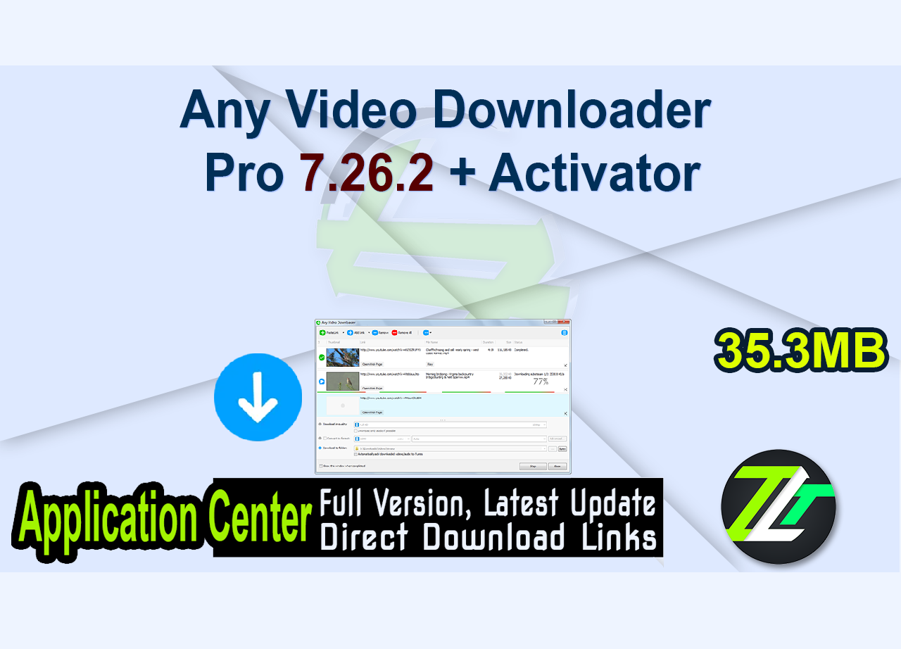Any Video Downloader Pro 7.26.2 + Activator