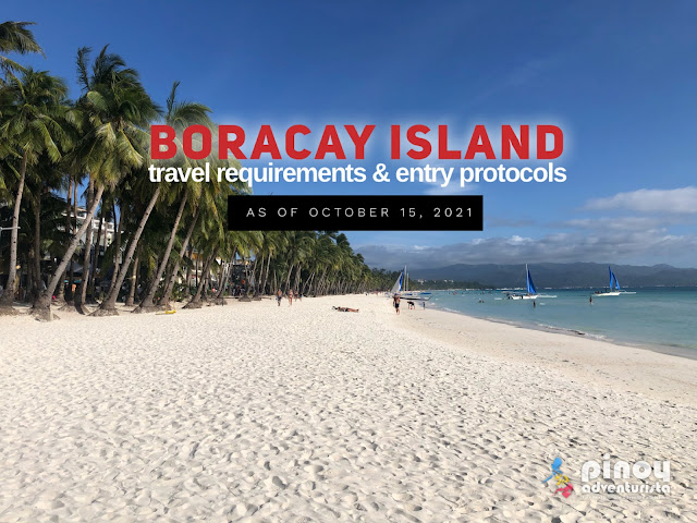 Boracay Travel Requirements October 2021 for tourists