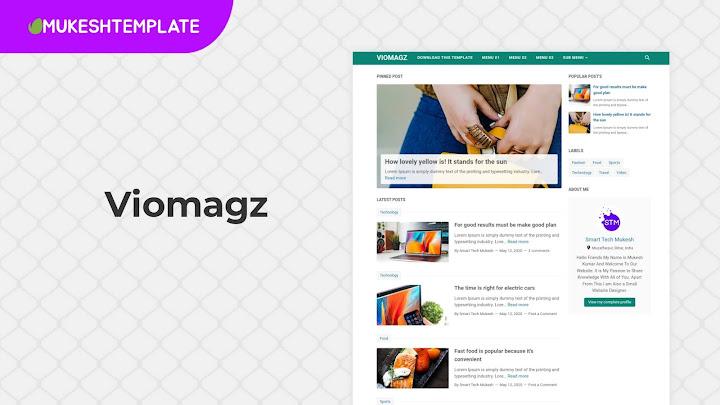 VioMagz v4.6.0 - Premium Blogger Template