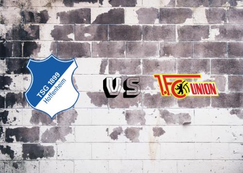 Hoffenheim vs Unión Berlín  Resumen