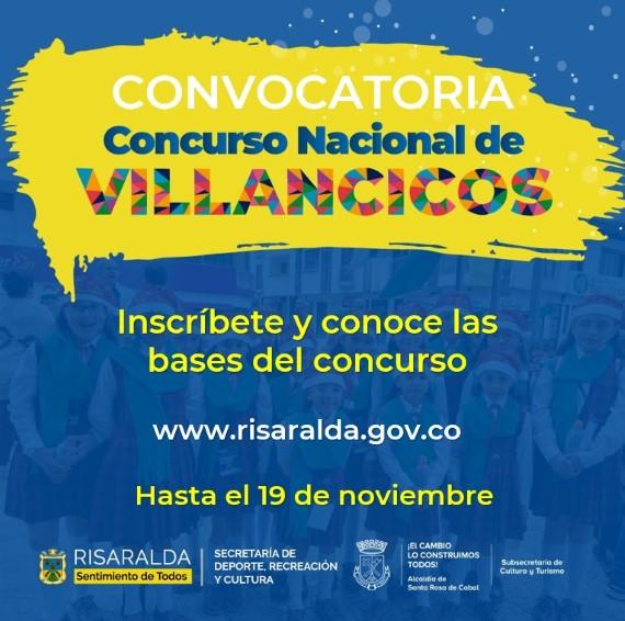 Todo listo para iniciar la convocatoria del Concurso Nacional de Villancicos 2021
