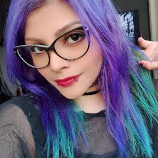 Purple Aesthetic Girl