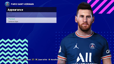 PES 2021 Faces Lionel Messi by TheViper12