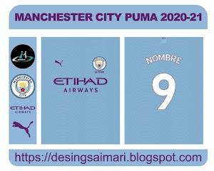 Manchester City Puma 2020-21 FREE DOWNLOAD