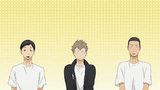 ハイキュー!! アニメ 2期2話 テスト 赤点   縁下力 木下久志 成田   HAIKYU!! Season2 Karasuno