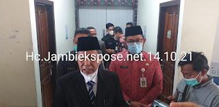 Wakil Gubernur Jambi Melantik Dan Mengukuhkan Pejabat Eselon III Dan IV Lingkup OPD Provinsi Jambi