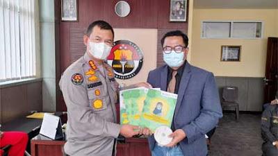 Kabid Humas Polda Terima Kunjungan Psikiater Muhammadiyah Sumbar