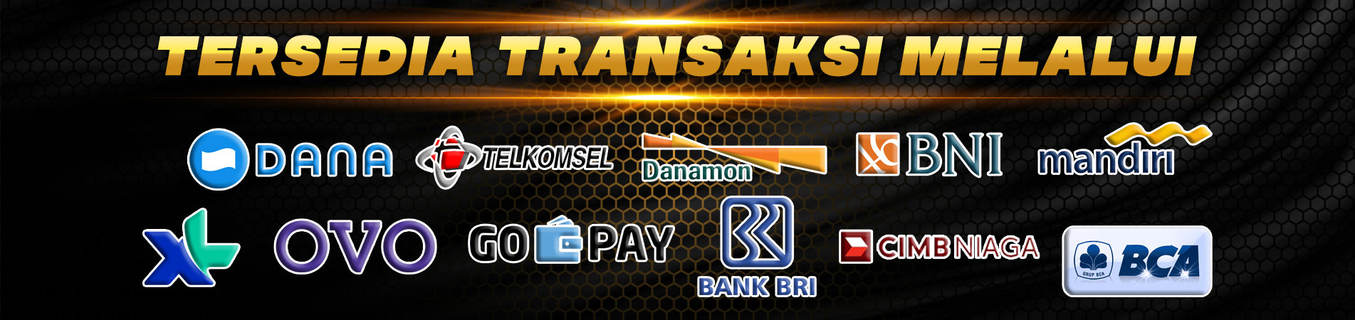 BANK YANG TERSEDIA