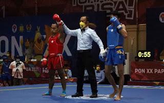 "Atlet Wushu Asal Toba, Adi ""Popay"" Manurung Berhasil ke Final PON XX Papua 2021"