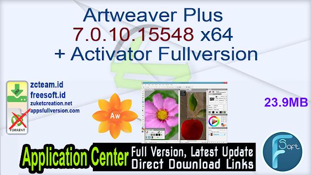 Artweaver Plus 7.0.10.15548 x64 + Activator Fullversion