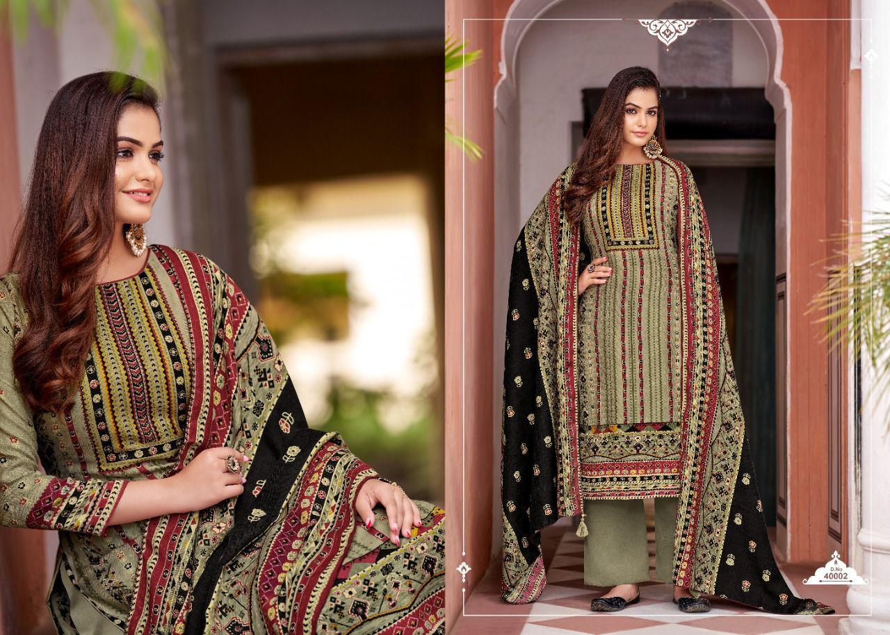 Vp Noor Pashmina Suits Catalog Lowest Price