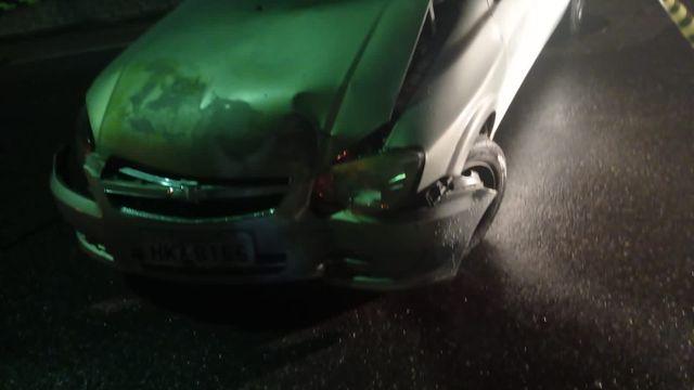 Policia Militar prendeu um condutor após dirigir embriagado e envolver se em acidente