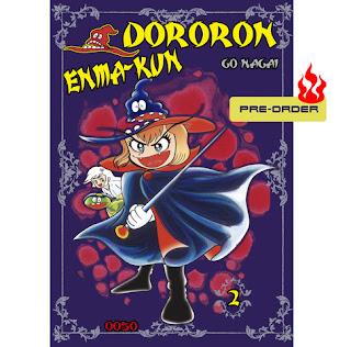 Ooso Comics anuncia el pre-order del tomo 2 de Dororon Enma-kun.