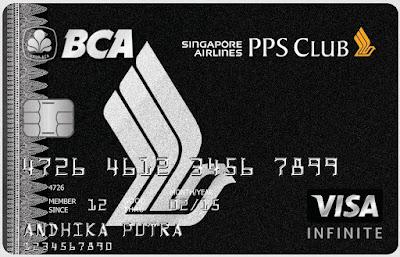 BCA Singapore Airlines PPS Club Visa Infinite Card
