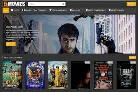 Top 10 similar sites like 5movies to watch movie free online