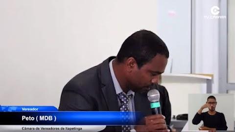 O humilhante recuou do vereador Peto após tentativa de rachar com prefeito Hagge
