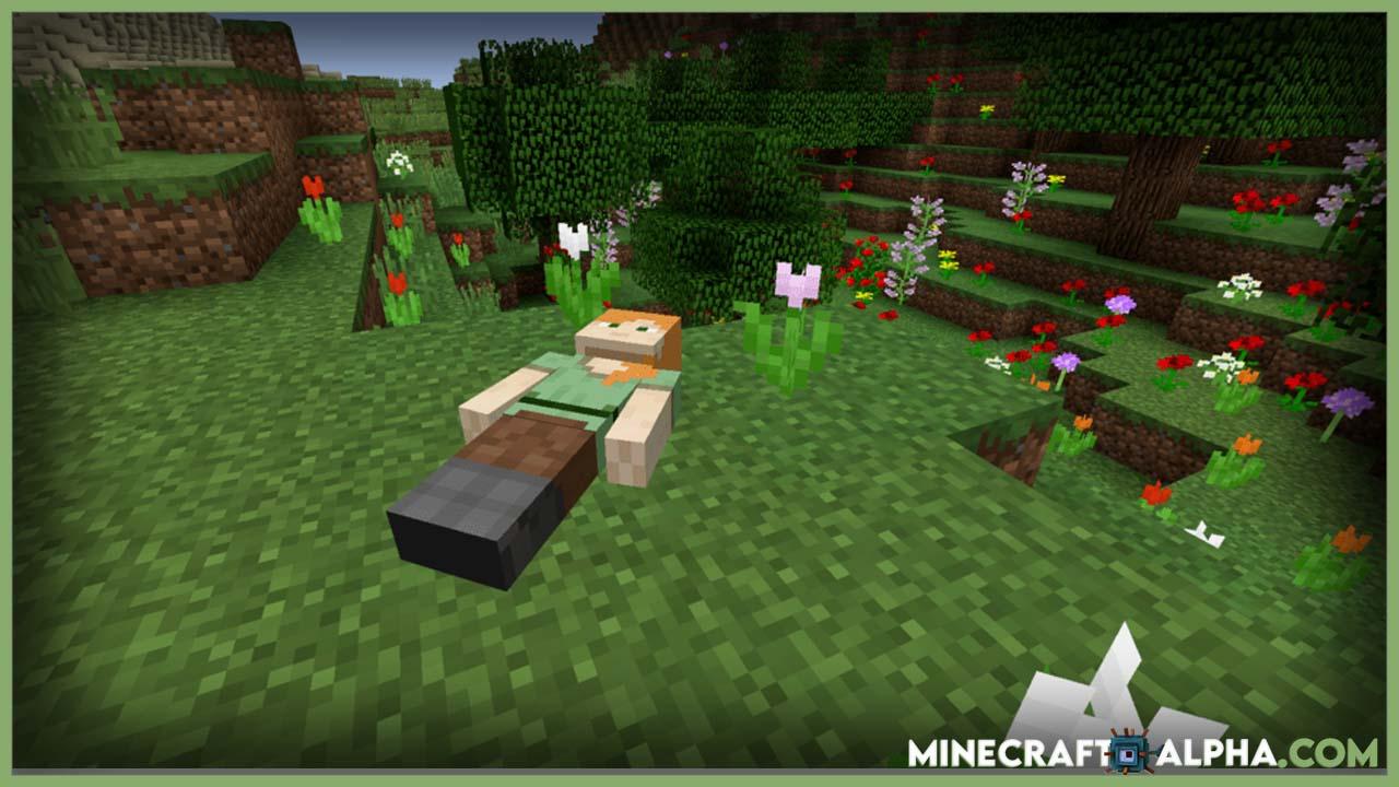 Minecraft Corpse Mod 1.17.1 (Lootable Bodies)