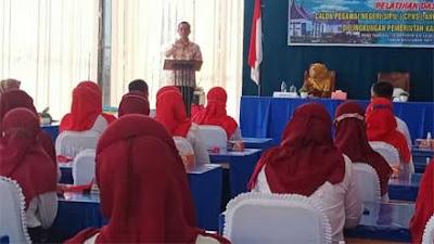 Medison Buka Latsar CPNS Angkatan III Golongan II Kabupaten Solok TA 2021
