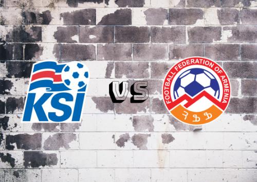 Islandia vs Armenia  Resumen