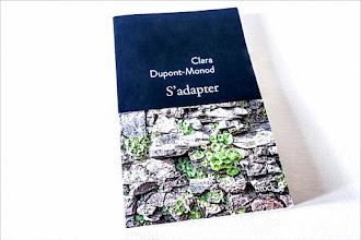 Lundi Librairie : S'adapter - Clara Dupont-Monod - Rentrée littéraire 2021