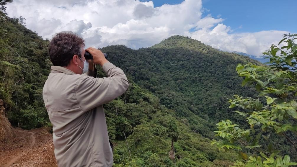La CARDER busca ampliar el área protegida de la Cuchilla del San Juan en Pueblo Rico