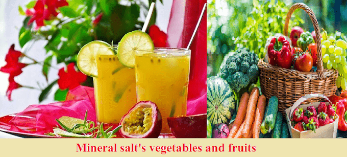 Mineral salt: Their Functions and Sources, complete information