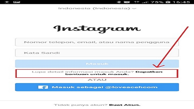 Cara Mengembalikan Akun Instagram yang Lupa Email dan Password