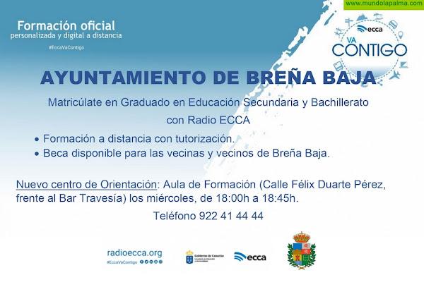 BREÑA BAJA: Radio Ecca imparte el Graduado en Educación Secundaria y Bachillerato