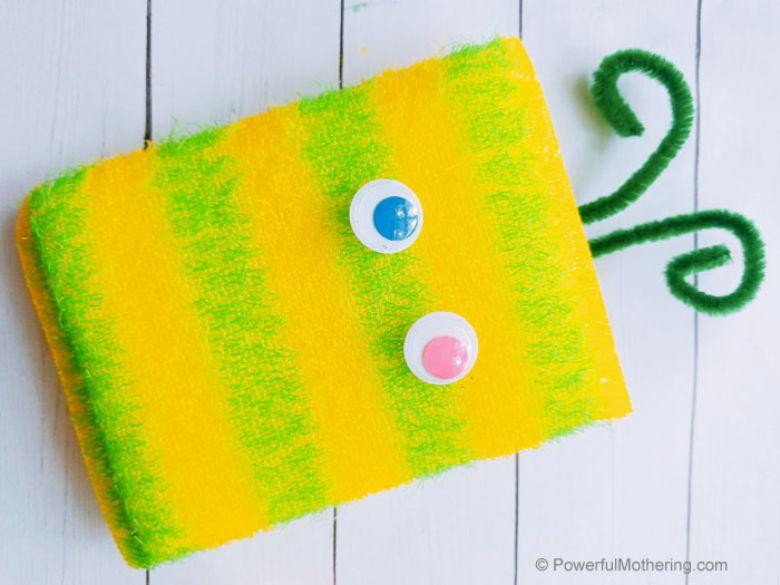Sponge monster craft